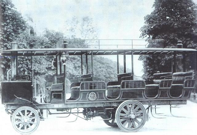 Bus à vapeur DE DION2